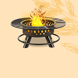 Garden fireplaces & heaters