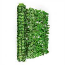 Blumfeldt Fency Bright Leaf insynsskyddsstaket vindskydd 300x150 cm bok ljusgrön
