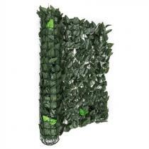 Blumfeldt Fency Dark Leaf insynsskyddsstaket vindskydd 300x100 cm mörkgrön mix