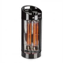 Blumfeldt Heat Guru 360 golvinfravärmare 1200/600W 2 värmesteg IPX4 svart