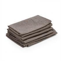 Blumfeldt Titania Dining Set overtrekset 10 delig 100% polyester bruin