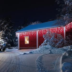 Dreamhouse Guirnalda luminosa 8m 160 LED blanco frío Snow Motion