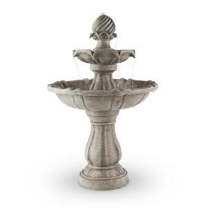 eldtSpringbrunnen fontaine à oiseaux 60x90cm 3W batterie solaire