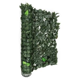 Fency Dark Leaf Privacy Windscreen 300 x 100 cm Dark Green Mix