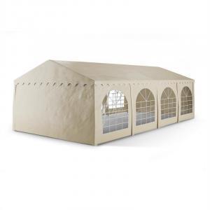 Sommerfest 4x8m 500 g/m² Chapiteau tente PVC étanche galvanisé