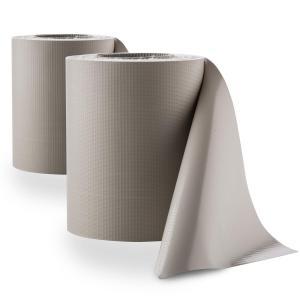 Blumfeldt Pureview Store 60 Clôture PVC 2 rouleaux 35m x 19cm - gris clair