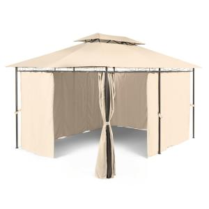 Grandezza Gazebo Party Tent 3x4m Steel Polyester Beige