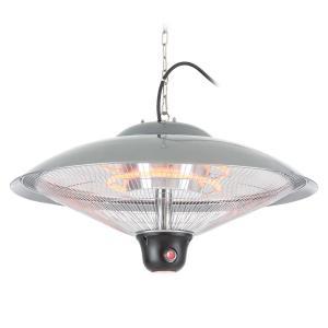 DURAMAXX Heizsporn Riscaldatore a Soffitto 60,5 cm (Ø)Lampada LED Telecomando