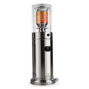 Heatwave V2A Stufa Da Esterno A Gas Acciaio 11 kW Mobile 800g/h