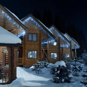 Dreamhouse Classic LED luces de navidad carámbano 16m 320 LEDs blanco frio