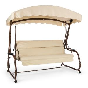 High Society Swing Seat Garden Swing 220 cm Brown