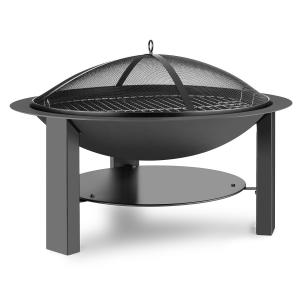 Mithras Brazier Ø75 cm Spark Protection Ø60 cm Grill Tray Cast Iron Steel