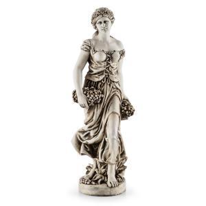 Blumfeldt Ceres Sculpture Statue Handmade 1.2m Fiberglass-MgO Alabaster look