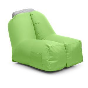 Airchair Luftsessel 80x80x100cm Rucksack waschbar Polyester grün