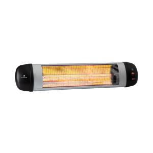 Rising Sun Zenith radiateur infrarouge 2500W IP34 télécommande argent