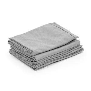 Blumfeldt Theia Upholstery Covers 8-pc 100% Polyester Water Repellent Light Grey