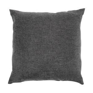 Titania Pillows Kissen | Material: 100 % Polyester gewebt 220 g/m² |  wasserabweisend | Bezug geeignet für Handwäsche | Zubehör | dunkelgrau  meliert
