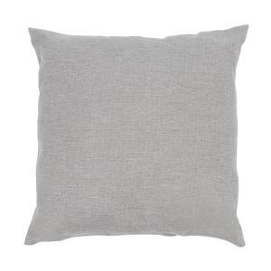 Titania Pillows Kissen | Material: 100 % Polyester gewebt 220 g/m² |  wasserabweisend | Bezug geeignet für Handwäsche | Zubehör | hellgrau  meliert