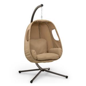 Blumfeldt Bella Donna fauteuil suspendu coussin d'assise 180 g polyester beige