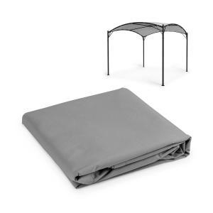 Castello Pergola-Sonnendach | Größe: 350 x  350 cm (BxT) | Sonnendach aus Polyester | Schutz vor Sonne & Regen: wasser- und UV-abweisend | FlexMood Concept: austauschbares Dach | grau