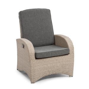 Comfort Siesta Sessel verstellbare Rückenlehne hellgrau