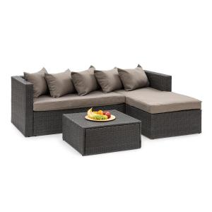 Blumfeldt Theia Lounge Set Garden Set Black / Brown