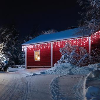 Dreamhouse Snow String Lights 8m160 Led Cold White Snow Motion