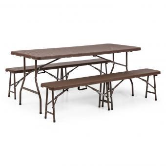 Tisch Bierzeltgarnitur.Burgos Gartengarnitur