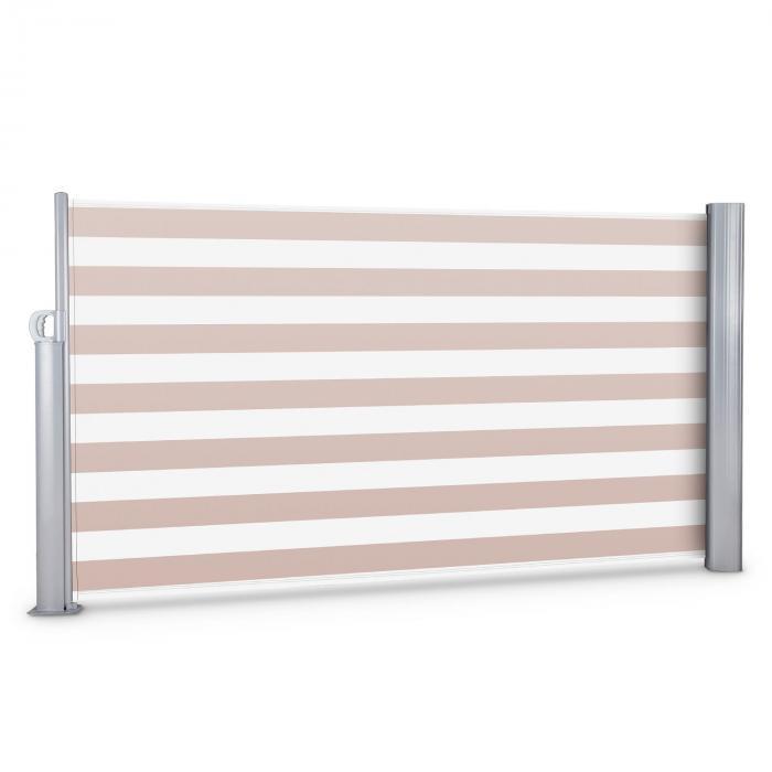 Bari 316 Store latéral 300x160cm aluminium crème-blanc