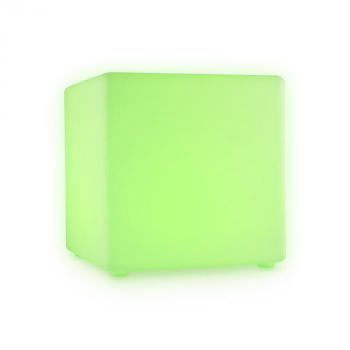 Shinecube Cubo LED Sgabello Luminoso 30x30x30cm