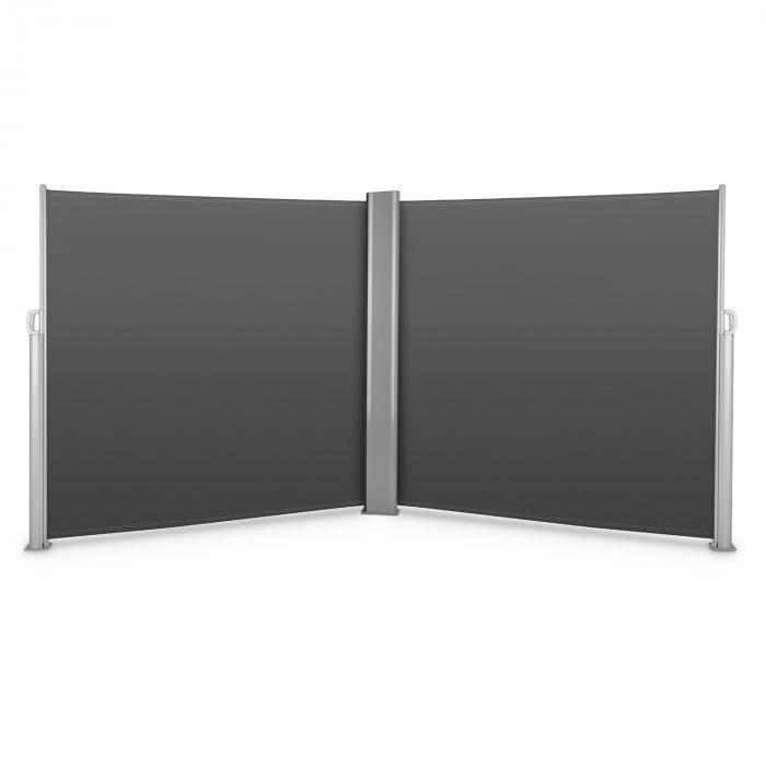 Bari Doppio 618 Double store latéral 6x1,8m aluminium -anthracite