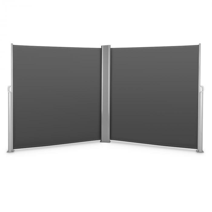 Bari Doppio 620 Double store latéral 6x2,0 m aluminium - anthracite
