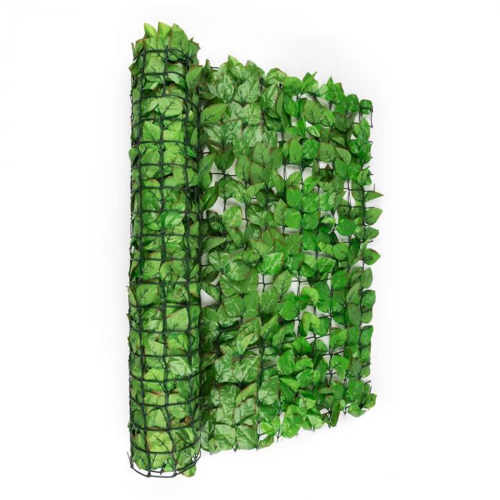 Fency Bright Leaf Clôture pare-vue Paravent 300x150 cm hêtre -vert clair