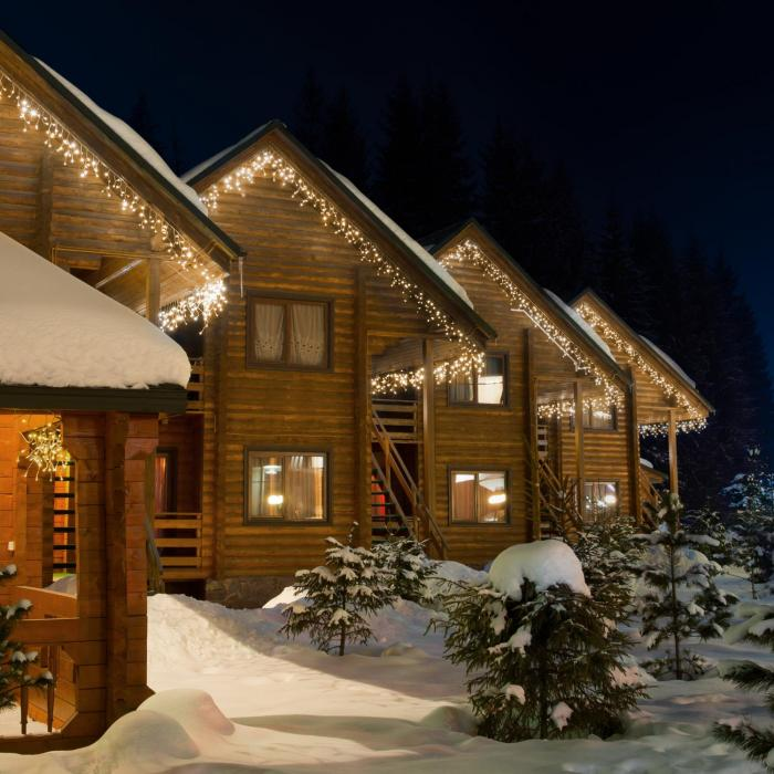 Dreamhouse Classic Luci Illuminazione natalizia a LED 24m 480 LED Bian