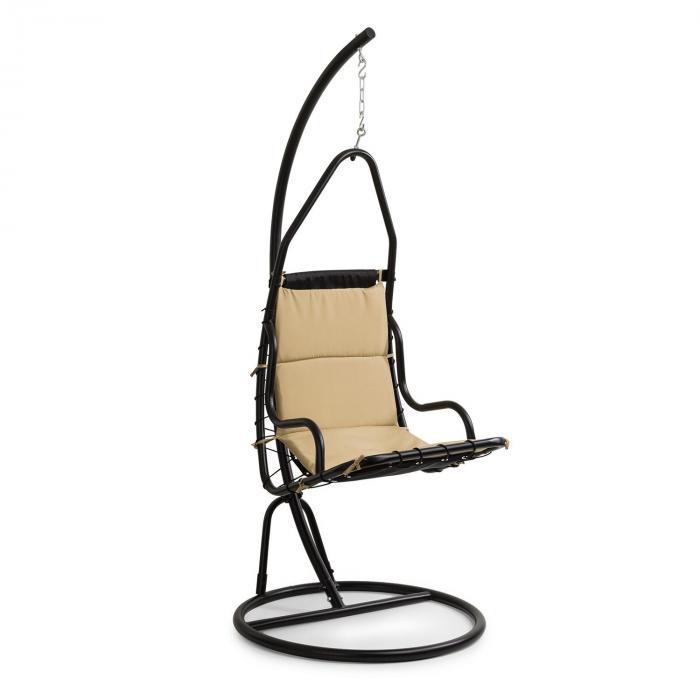 Serramazzoni EggChair hangstoel zitkussen bruin